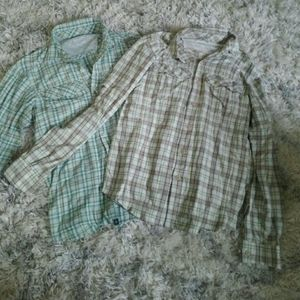 2 Colombia quick dry shirts